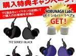 TFZ購入者限定NOBUNAGA Labs UE-1 シルバー1ペア プレゼント